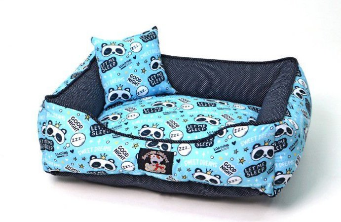 Cama para Cachorros | Gatos Sweet Dreams Azul