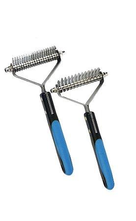 KIT - 2 Rakes ProPetz (13 e 20 Dentes) - Azul
