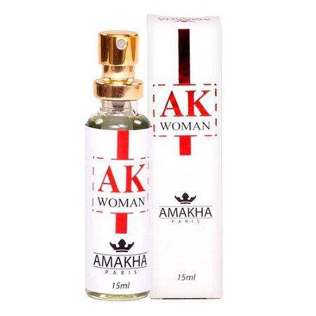 fae2586c4 AK Woman Eau de Parfum 15ml - Cosméticos & Cia Timbó Multimarcas