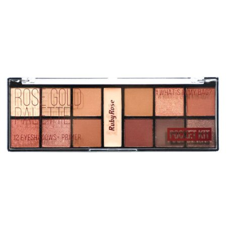 Paleta De Sombras Pocket Rose Gold - Ruby Rose HB-9951