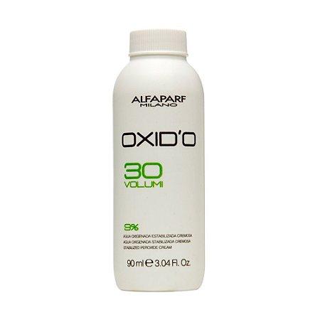 Alfaparf Oxid'o 9% - Água Oxigenada 30 volumes 90ml