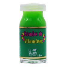 Lesalon Tratamento Capilar Bomba Vitamina 10ml