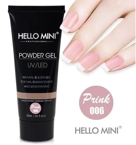 Hellomini Powder Gel Pink HJ110-8