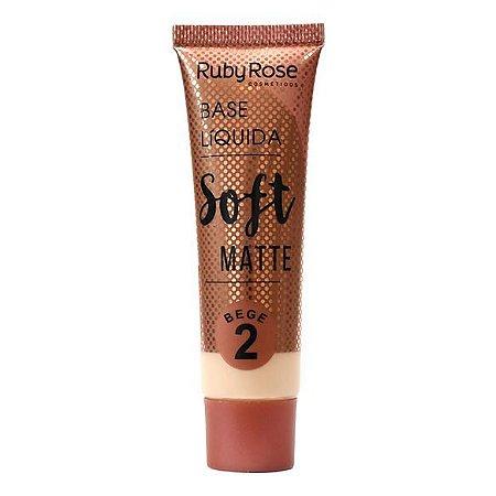 Base Líquida Soft Matte Bege 2