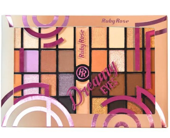 Paleta de Sombras Dreamy Eyes HB 9980 - Ruby Rose
