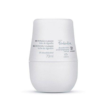 Natura Tododia Leite de Algodão Desodorante Roll-On 70ml