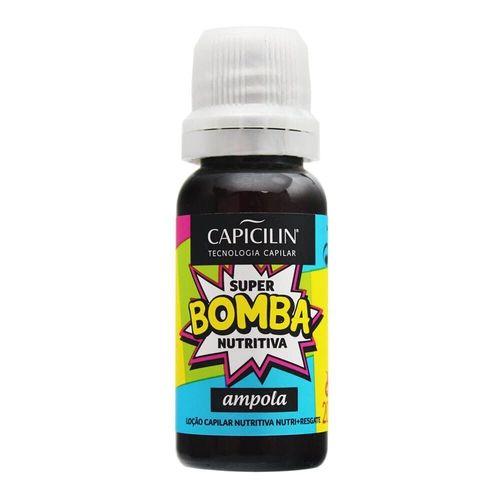 Ampola Loção Capilar Nutritiva Super Bomba 20ml - Capicilin