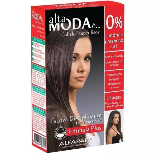 Kit Escova Alta Moda Argan Oil