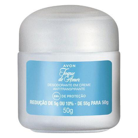 Desodorante em Creme Antiranspirante Avon Toque de Amor - 50
