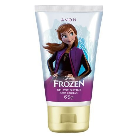 Gel de Cabelos com Glitter Frozen Magic - 65g