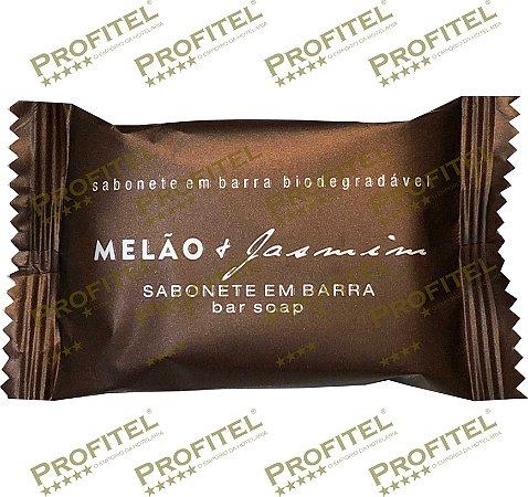 Kit 100 Sabonetes Luxo 20 gramas - Melão e Jasmim - Realgem's