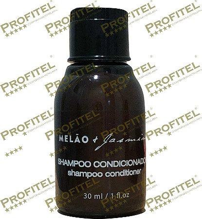 Caixa 100 Shampoo/Condicionador 2x1Luxo 30ml  - Melão + Jasmim - Realgem's