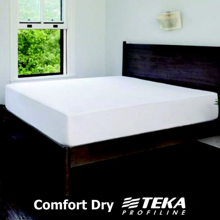 Protetor de Colchão Solteiro 88x188cm - Comfort Dry - Tecido Repelente a Água - TEKA Profiline