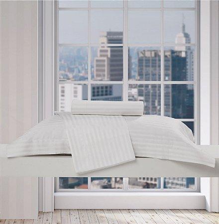 Fronha Gigante Toronto Stripe 200 fios Profissional 3 Abas 50x90cm - TEKA Profiline