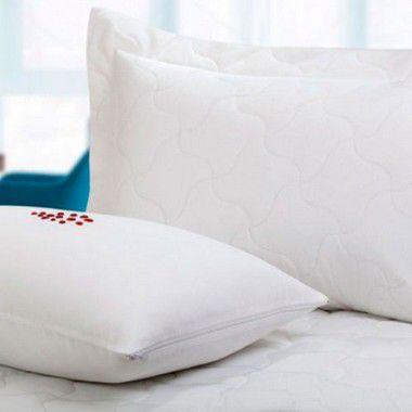 Protetor de Travesseiro 50x90cm Comfort Dry - Tecido Repelente a Água - Com Zíper TEKA Profiline