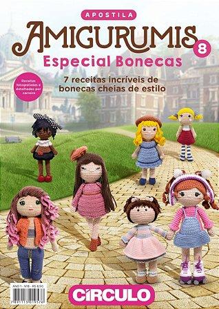 APOSTILA AMIGURUMIS ESPECIAL BONECAS - Nº 8