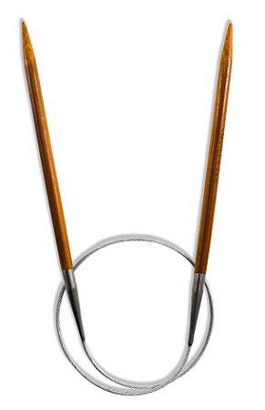 AGULHA CIRCULAR BAMBU 60cm 4.50mm