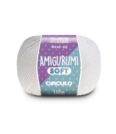 AMIGURUMI SOFT - COR 8001