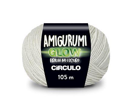 AMIGURUMI GLOW - COR BRANCO