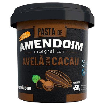 Pasta de Amendoim 450g Avelã c/ Cacau Mandubim