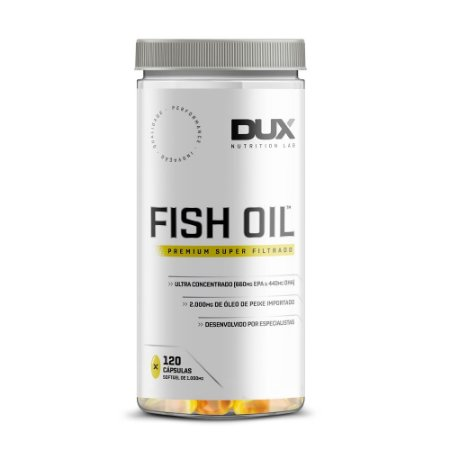 Ômega 3 Fish Oil 120 Cápsulas Dux Nutrition