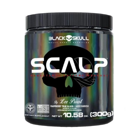 Scalp Pre Workout 300g Black Skull