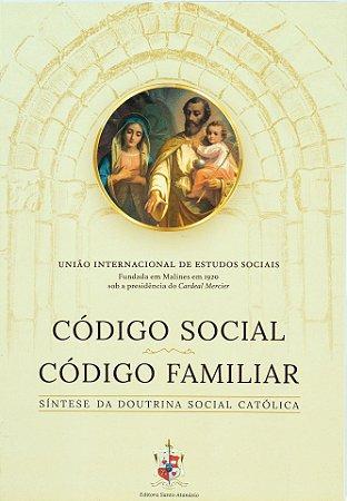 Código Social e Código Familiar de Malines - Cardeal Mercier