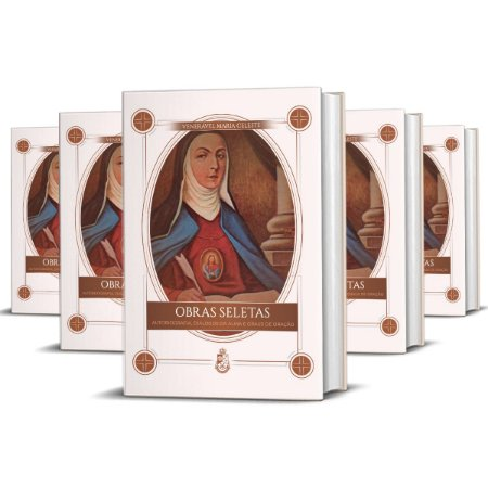 Obras Seletas da Ven. Madre Maria Celeste (5 unidades) (CAPA DURA)