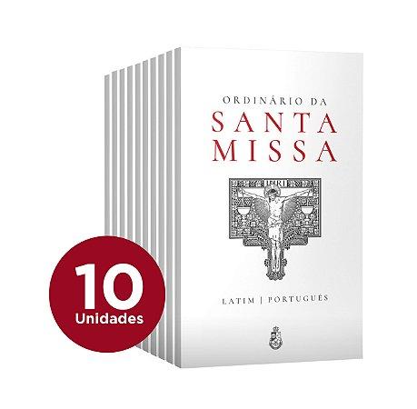 Pacote Missa Tradicional - 10 Ordinários da Missa bilíngue e colorido