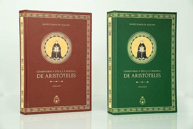Comentário à Ética e à Política de Aristóteles - Santo Tomás de Aquino (2 volumes - CAPA DURA)