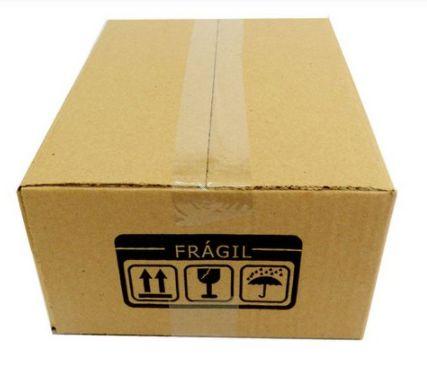 25 Caixas de Papelão P3 26x19x12 cm