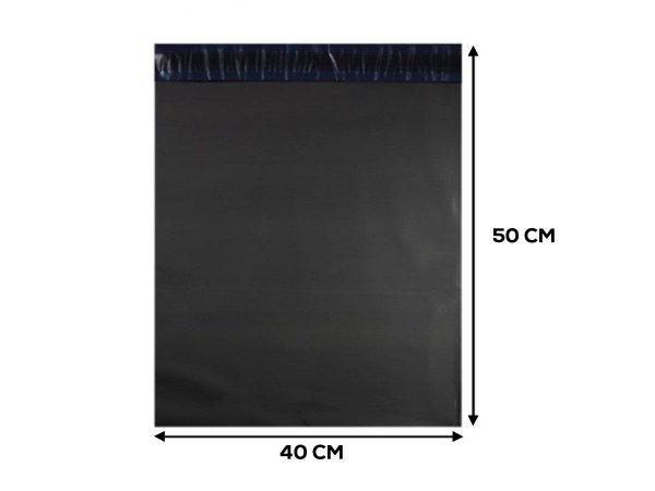 Envelope Plástico de Segurança ECONOMIC - 40X50