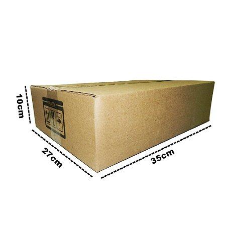 25 Caixas Papelão D19 - 35x27x10 cm
