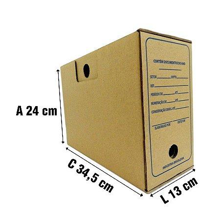 10 Caixas De Papelão P/ Arquivo