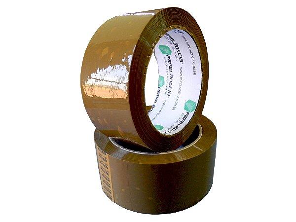 Fita Adesiva 45x100 Marrom - 1 KIT (5 UNIDADES)