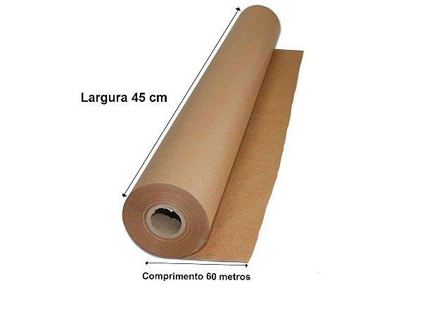 Bobina Semi kraft - Mascaramento 45 cm x 60 Metros