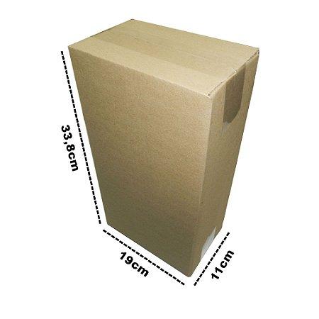 caixa de Papelão E9 19x11x33,8 cm 25 unidades