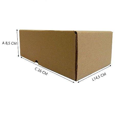 25 Caixas Papelão B3 Sedex 26x14,5x8,5 cm