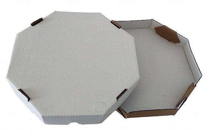 Caixa de Papelão Para Pizza 35x35x4,5 Cm - 25 unidades