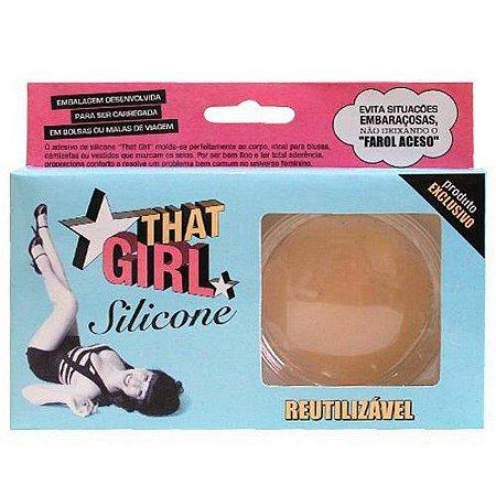 That Girl Adesivo de Silicone