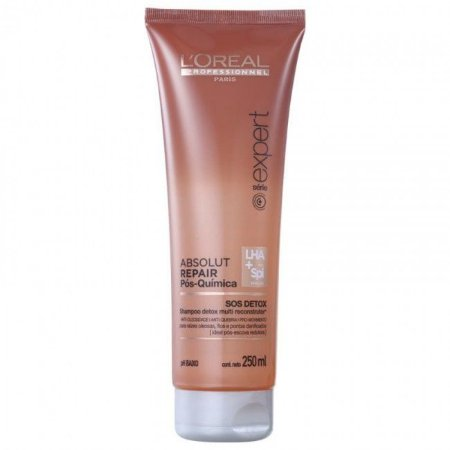 Loreal Absolut Repair Pos Quimica Shampoo Sos Detox 250ML