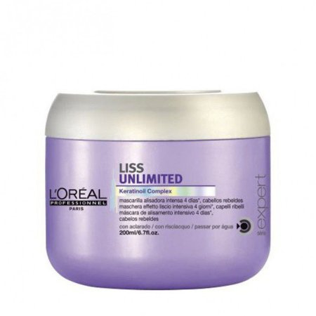 Loreal Liss Unlimited Máscara 200G