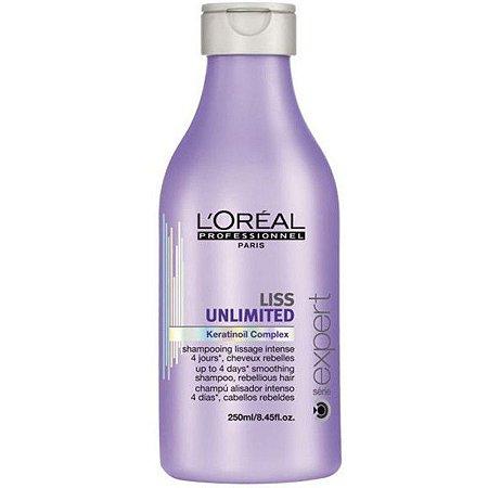 Loreal Liss Unlimited Shampoo 300ML