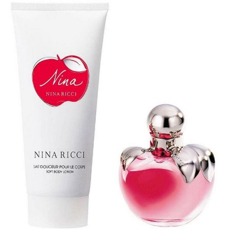 Nina Ricci Kit EDT 80ML + Body Lotion 100ML