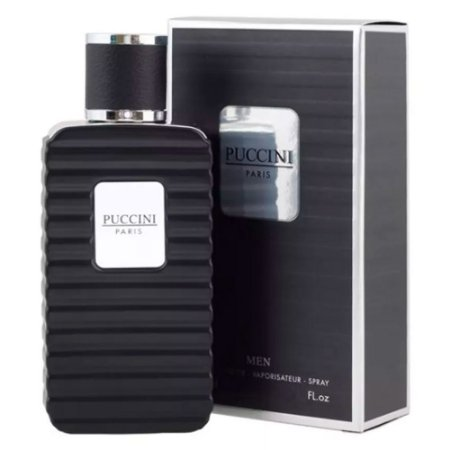 PUCCINI MEN BLACK EDT 100ML