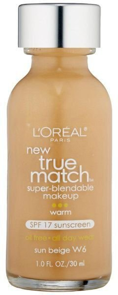 Loreal Base 1 Match W6 | Sun Beige