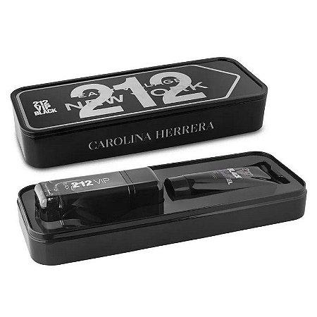 CAROLINA HERRERA COFFRET 212 VIP MEN BLACKt EDP 100ml + SG 100ml