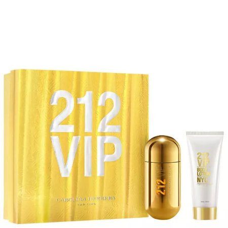 CAROLINA HERRERA 212 VIP COFFRET EDP 80ml +BL Bisnaga 100ml