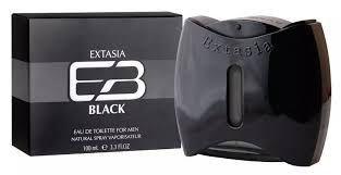 NEW BRAND EXTASIA BLACK EDT 100ML