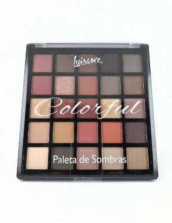 Luisance Colorful Paleta de Sombra 25 Cores